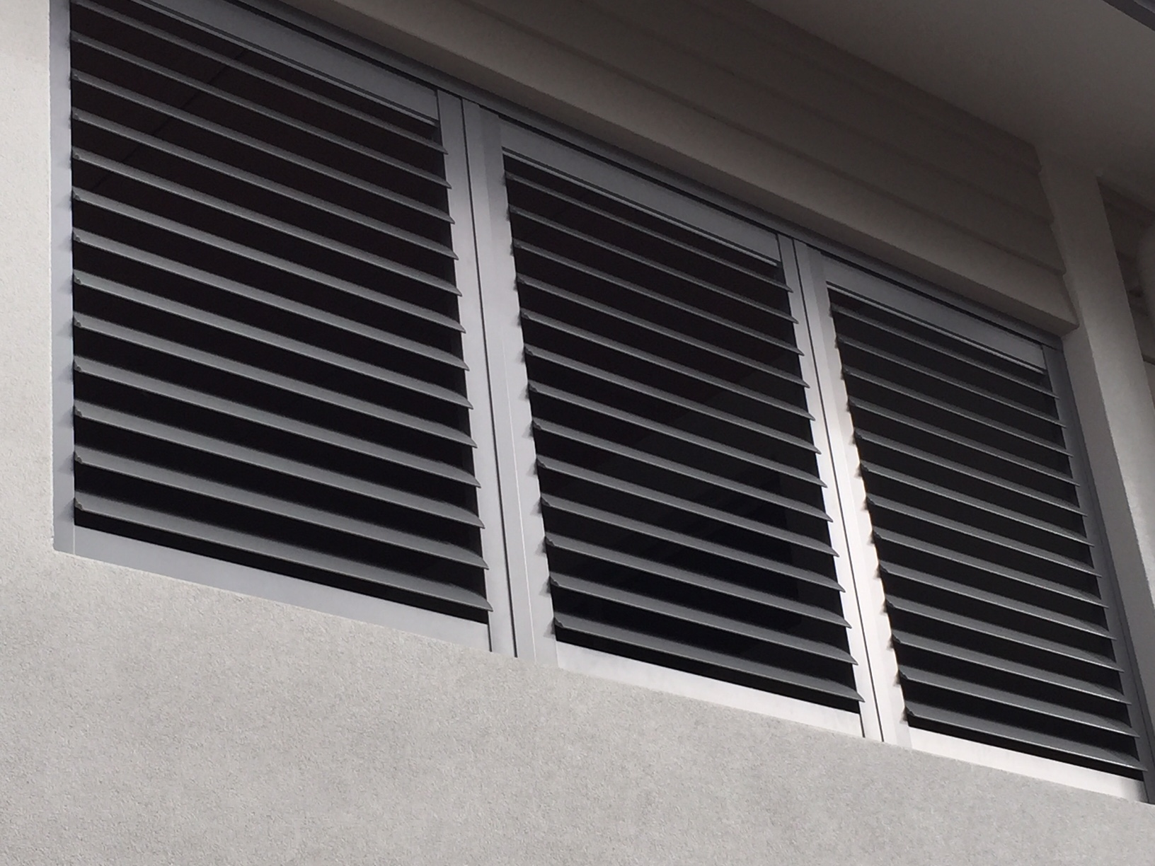 Fixed Angle Shutters