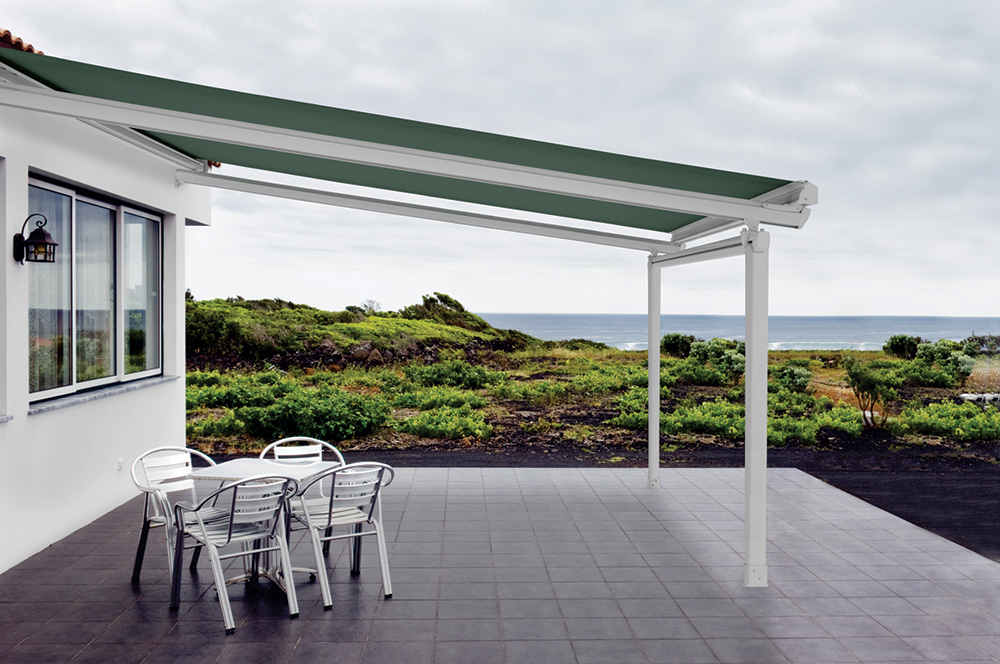 Retractable Roofing - PVC Shade